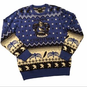 Harry Potter Ravenclaw Christmas Ugly Sweater M